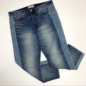 Madewell Cruiser Straight Two-Tone Jean